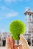свет eco принципиальной схемы шарика Стоковое Изображение