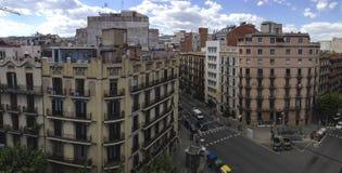 Свет 2015 IMG_5692 Барселоны © Пола Стоковое Изображение RF
