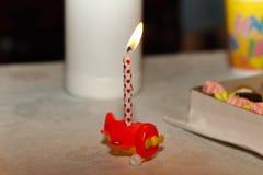 Свеча в стойке Стоковая Фотография RF