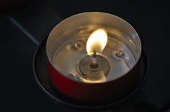 Свеча в церков Стоковое Фото