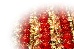 Свеча лотоса с виньеткой Стоковое Фото