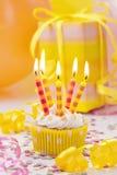 Свеча дня рождения Стоковые Фото