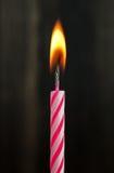 Свеча дня рождения Стоковое фото RF