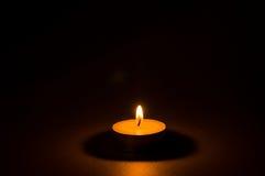 Свеча света чая Стоковое Фото