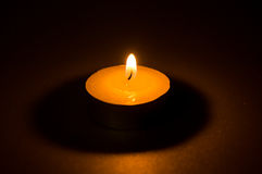 Свеча света чая Стоковая Фотография RF