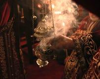 Свеча с ладаном Стоковые Изображения