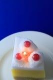 Свеча торта Стоковые Изображения RF