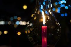 Свеча Bokeh Стоковая Фотография RF