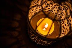 Свеча Everning Стоковые Изображения RF
