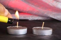 Свечи дальше Стоковая Фотография RF