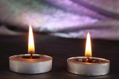 Свечи дальше Стоковые Фото