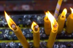 Свечи виска Стоковое Изображение RF