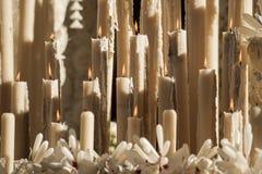 Свечи в святой неделе Стоковое фото RF