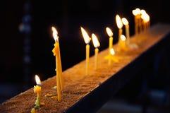 Свечи в церков стоковая фотография rf