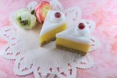 Свечи десерта Стоковые Фото