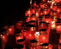 Свечи и фонарики Стоковое Фото
