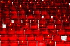 Свечи молитве Стоковые Фотографии RF