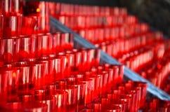 Свечи молитве Стоковая Фотография