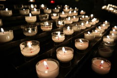 Свечи молитве Стоковые Изображения RF