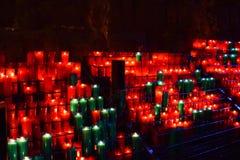 Свечи на монастыре Монтсеррата около Барселоны Стоковые Изображения RF