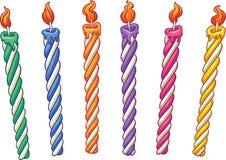 Свечи дня рождения Стоковое Изображение RF