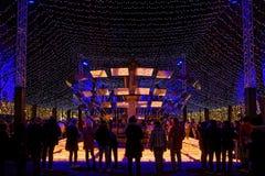 Свечи призрения во время фестиваля огней стоковые изображения rf