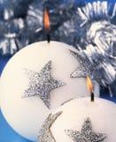 Свечи рождества Стоковое Фото