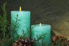 Свечи рождества Стоковые Фотографии RF