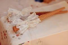 Свечи свадьбы Стоковые Изображения