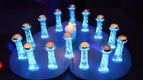 Свечи, увядая по-одному видеоматериал