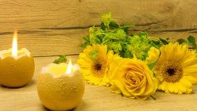 Свечи украшения пасхи в форме яичка Стоковые Фотографии RF
