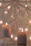 2 свечи Стоковые Фото