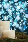 Свечи Xmas Стоковые Фото
