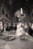 Свечка в церков Стоковые Изображения