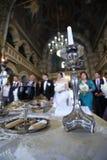 Свечка в церков Стоковая Фотография RF