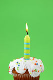 свечка дня рождения Стоковые Изображения RF