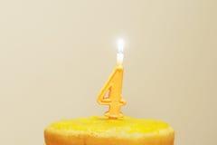 свечка дня рождения Стоковое Изображение RF