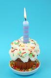 свечка дня рождения Стоковые Фото