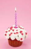 свечка дня рождения Стоковое Фото