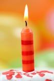 свечка дня рождения Стоковые Фотографии RF