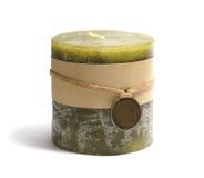 Свечка изолированная на белизне Стоковое Фото