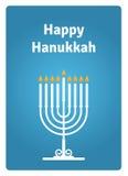 Свечка карточки Hanukkah