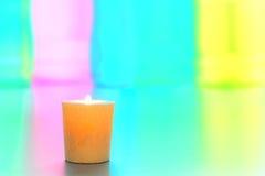 свечка красит декоративное излишек пастельное мягкое votive Стоковая Фотография