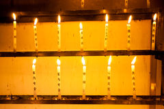 Свечка на виске Kinkakuji Стоковые Фотографии RF