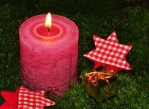 Свечка рождества Стоковые Фотографии RF