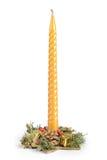 Свечка рождества Стоковое Изображение