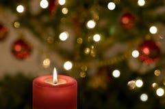 Свечка рождества Стоковое Изображение RF