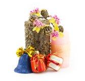 Свечка, рождество Стоковое фото RF