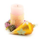 Свечка, рождество Стоковая Фотография RF
