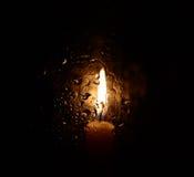 свечка сиротливая Стоковые Фото